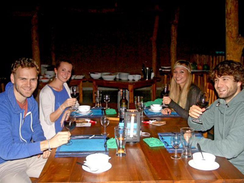 Yala Lake Camp tented safari camping trip