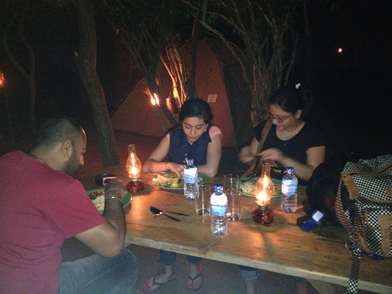 Dinner and overnight stay in Kamatha Eco Lodge