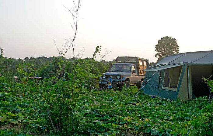 3 nights and 4 days mobile camping, safari and rural village experience