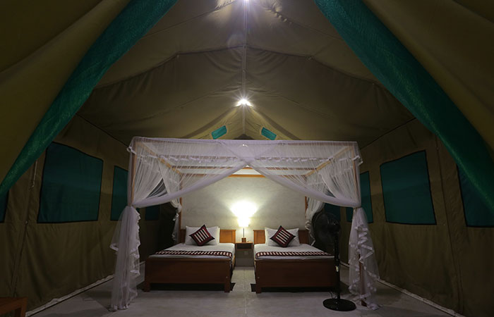 Wilpattu 3 nights and 4 days safari camping