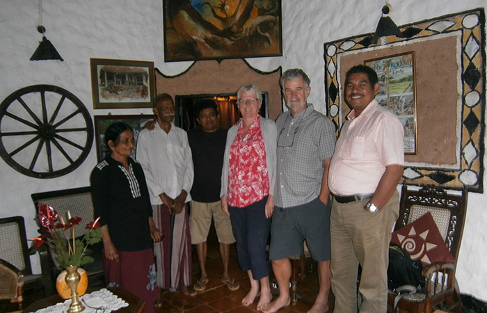 Kandy to take part in cooking a traditional Sri Lankan rice and curry