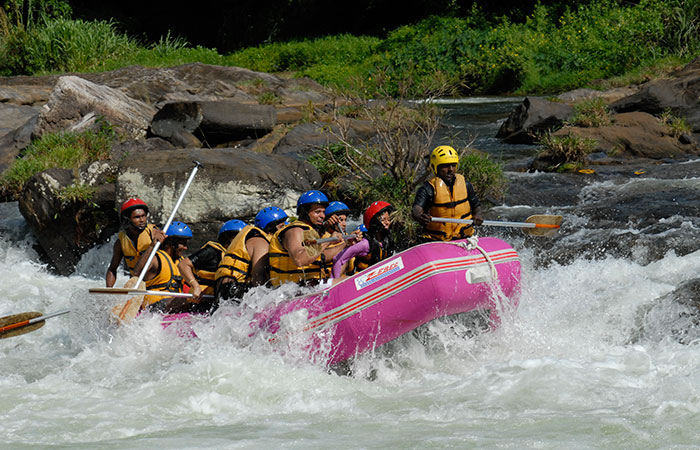 Water Rafting in Kitulgala
