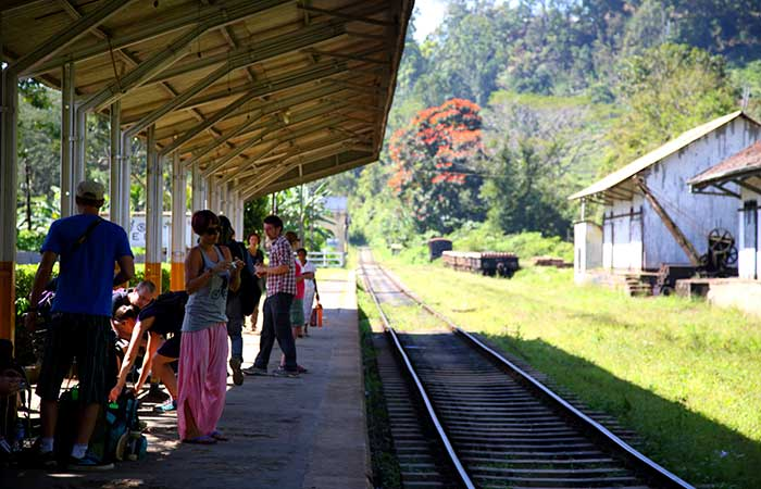 Kandy to Ella train trip