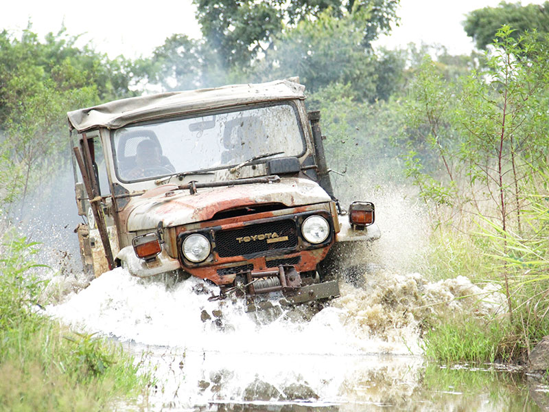 Go for an extreme 4x4 mud adventure jeep ride