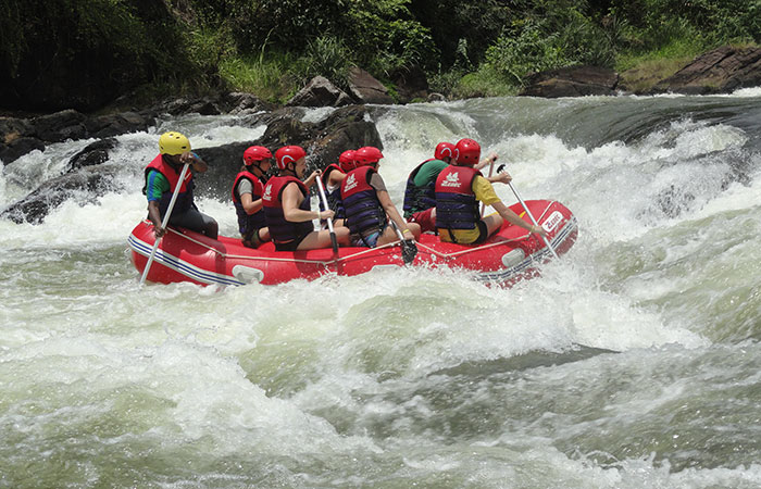 White Water Rafting in Kelani River