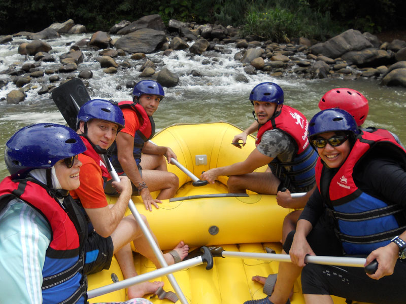 Adventure Day Trip in Kitulgala with White Water Rafting, Rainforest Trail and lunch