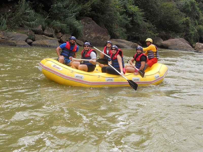 White Water Rafting, Waterfall Abseiling, Rainforest Walk
